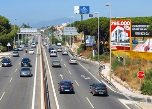 Driving on Costa del Sol Holiday