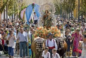 Fuengirola honours the Virgen del Rosario
